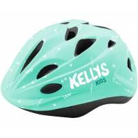 """Шлем KELLYS BUGGIE детский, """"мята"""", S (48-52)см. 12 вентиляционных отверстий, сетка от насекомых, отражающий стикер сзади"""