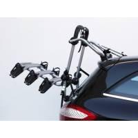 Peruzzo Автобагажник на заднюю дверь FIRENZE, алюм., труба D:30 мм, для 3 в-дов весом до 15кг, шириной колеса до 70мм, с изогнутыми полозьями, серый, защитное покрытие, упаковка-коробка