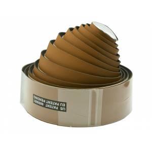 VELO Оплётка руля VLT-032-07 200х3 см, микрофибра, светло-коричневая с заглушками
