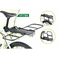 Багажник - трансформер YF788 консольный, алюминий, макс.нагр.10кг, чёрный