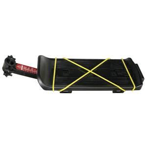 YUENI Багажник YF-3S консольный, сталь/пластик, чёрный, с катафотом