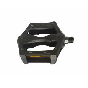 SHUNFENG Педали BMX, пластиковые с подшипниками 9/16, 116х91мм чёрные