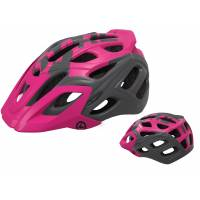 Шлем KELLYS DARE туристический, Матовый фиолетовый, S/M (54-57см). 23 вентиляционных отверстия, система регулировки STL 3.0, интегрированная сетка от насекомых, съёмный козырёк, сзади отражающий стикер