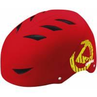 Шлем KELLYS JUMPER MINI детский для BMX, красный, XS/S (51-54см). Внутренний слой из EPS, внешний из ABS, 12 вентиляционных отверстий, система регулировки STL 3.0