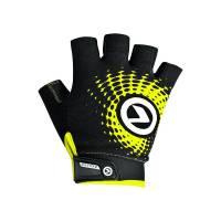 Перчатки IMPACT short (без пальцев) Lycra, чёрный/зелёный, S