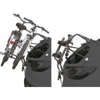 """Peruzzo Автобагажник на заднюю дверь PURE INSTINCT, сталь, для 2 в-дов, суммарно до 45 кг, допускаются рамы 12-19"""", колёсная база до 1250мм, подходит для перевозки 2 E-BIKE"""