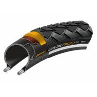 Continental Покрышка CONTACT Plus, 28x1 1/4 x 1 3/4, 32-622, чёр./чёр. Reflex, 180TPI, SafetyPlusBreaker, E50