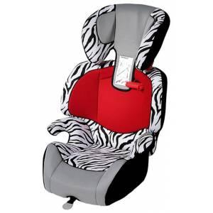 Raff zebra Кресло дет. BELLELLI гр. 1, 2 и 3, от 9 до 36кг