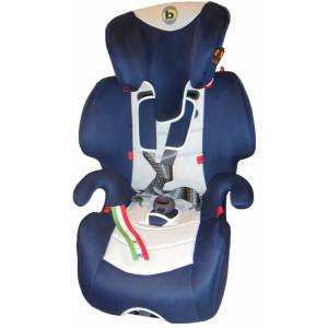 Giotto blue grey Кресло дет. BELLELLI гр 1, 2 и 3, от 9 до 36кг
