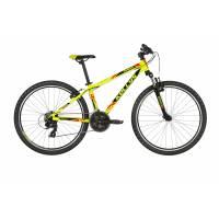 """KELLYS Naga 70 Neon lime 13.5"""", подростковый велосипед, колёса 26"""", рама алюминиевая 13.5"""", 21 ск."""