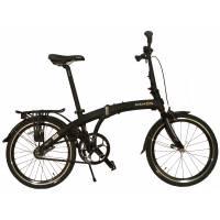 """DAHON Mu Uno Obsidian, велосипед складной, колёса 20"""", крылья, багажник, насос, 1 скор."""