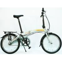 """DAHON Curve i3-20 Ash, велосипед складной, колёса 20"""", крылья, багажник, насос, 3 скор."""