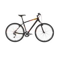 "KELLYS Phanatic 10 Dark Orange, кроссовый велосипед, колёса 28"", рама: Al 6061 3B 21"", 27 скор."