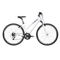 "KELLYS Clea 70 White, кроссовый велосипед, колёса 28"", рама: Al 6061 19"", 24 скор."
