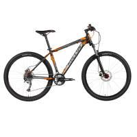"""KELLYS SPIDER 30 DARK ORANGE, МТВ велосипед, колёса 27,5"""", рама: AI 6061 15,5"""", 24 скор."""