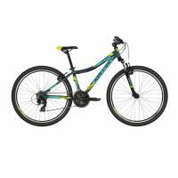 """KELLYS Naga 70 Blue 13.5"""", подростковый велосипед, колёса 26"""", рама алюминиевая 13.5"""", 21 ск."""