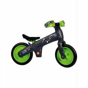 BELLELLI Беговел детский B-BIP, цвет: чёрно-зелёный