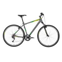 "KELLYS Phanatic 10 Dark Green, кроссовый велосипед, колёса 28"", рама: Al 6061 3B 21"", 27 скор."