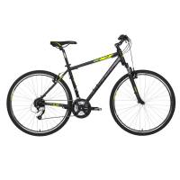 "KELLYS Cliff 70 Black Green, кроссовый велосипед, колёса 28"", рама: Al 6061 17"", 24 скор."