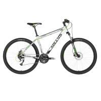 "KELLYS Viper 50 Silver-Green Neon, МТВ велосипед, колёса 27,5"", рама:AI 6061 21,5"", 24 скор."