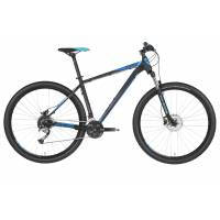 "KELLYS Spider 50 Black Blue 29"" S, МТВ велосипед, колёса 29"", рама: AI 6061 430мм, 27 скор."