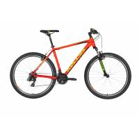 """KELLYS Madman 10 Neon Orange 26"""" S МТВ велосипед, колёса 26"""", рама: Al 6061, 21 скор."""
