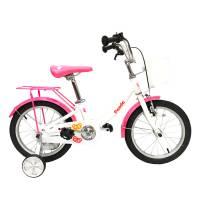 "GRAVITY PANDA, детский велосипед, колёса 16"", рама: Al,1 скор., цвет: бело-розовый"