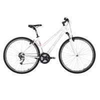 "KELLYS CLEA 70 WHITE кроссовый велосипед, колёса 28"", рама: Al 6061 19"", 24 скор."
