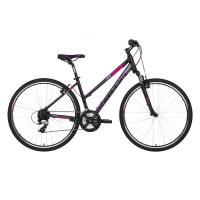 "KELLYS Clea 30 Black Pink, кроссовый велосипед, колёса 28"", рама: Al 6061 19"", 24 скор."