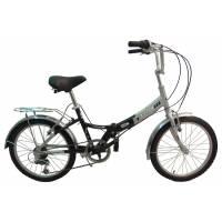 "TOTEM SF-276A, складной велосипед, колёса 20"", V-br, рама: Al , 6 скор."