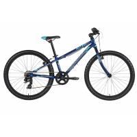 "KELLYS Kiter 30 Deep blue (24""), подростковый велосипед, колёса 24"", рама алюминиевая 11"", 7 скор., без амортизатора"
