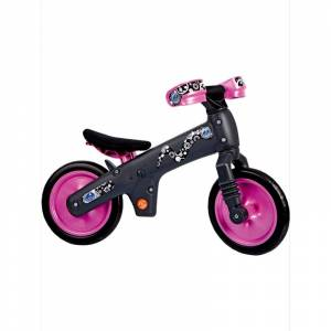 BELLELLI Беговел детский B-BIP, цвет: чёрно-розовый