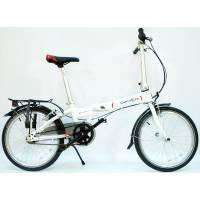 """DAHON Vitesse D7HG Frost, велосипед складной, колёса 20"""", крылья, багажник, насос, 7 скор."""
