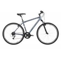 """KELLYS CLIFF 70 GREY, кроссовый велосипед, колёса 28"""", рама: Al 6061 21"""", 24 скор."""