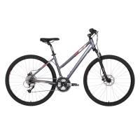 "KELLYS Clea 90 Black Coral, кроссовый велосипед, колёса 28"", рама: Al 6061 17"", 27 скор."