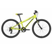"KELLYS Kiter 30 Yellow neon (24""), подростковый велосипед, колёса 24"", рама алюминиевая 11"", 7 скор., без амортизатора"
