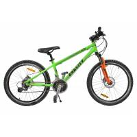"GRAVITY EXPEDITION DISC, подростковый велосипед, колёса 24"", рама: Al 17"", 21 скор."