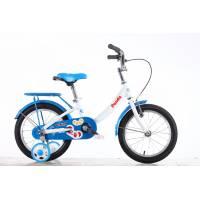 "GRAVITY Panda СИН/БЕЛ, детский велосипед, колёса 16"", рама: Al, рост 240мм, 1 скор."