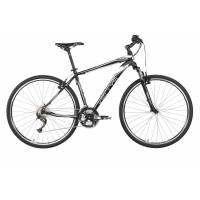 "KELLYS PHANATIC 10 BLACK, кроссовый велосипед, колёса 28"", рама: Al 6061 3B 17"", 27 скор."