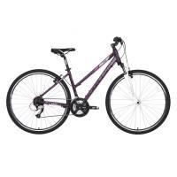 """KELLYS Clea 70 Violet, кроссовый велосипед, колёса 28"""", рама: Al 6061 17"""", 24 скор."""