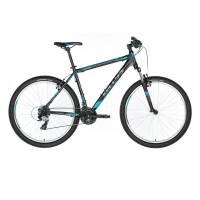 "KELLYS Viper 10 Black Blue, МТВ велосипед, колёса 26"", рама:AI 6061 13,5"", 21 скор."