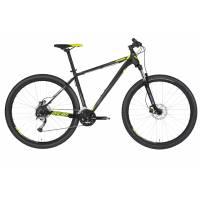 "KELLYS Spider 30 Black 29"" M, МТВ велосипед, колёса 29"", рама: AI 6061 480мм, 24 скор."