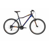 """KELLYS Vanity 20 Neon Orange Blue 26"""" XS, велосипед MTB женский, колёса 26"""", рама:AI 6061, 24 ск."""