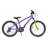 "GRAVITY EXPEDITION, подростковый велосипед, колёса 24"", рама: Al 17"", 21 скор."