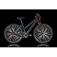 "KELLYS CLEA 70 BLACK кроссовый велосипед, колёса 28"", рама: Al 6061 19"", 24 скор."
