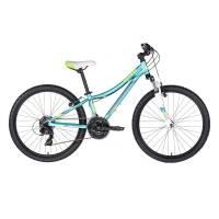 """KELLYS Kiter 50 Aqua, подростковый велосипед, колёса 24"""", рама алюминиевая 11"""", 21 скор."""