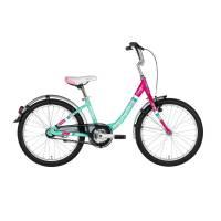 "KELLYS Cindy, детский велосипед, колёса 20"", рама алюминиевая 11,5"", 1 скор., без амортизатора"