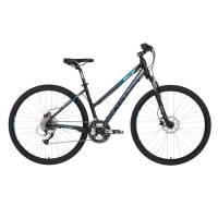 "KELLYS Clea 90 Black Aqua, кроссовый велосипед, колёса 28"", рама: Al 6061 17"", 27 скор."