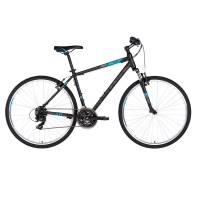 "KELLYS Cliff 10 Black Blue, кроссовый велосипед, колёса 28"", рама: Al 6061 21"", 21 скор."