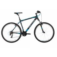 "KELLYS VIPER 10 BLACK BLUE, МТВ велосипед, колёса 26"", рама: Al 6061 17,5"", 21скор."
